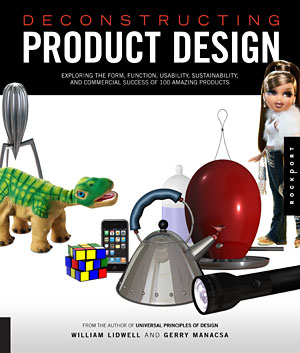 Deconstructing Product Design, Book Cover